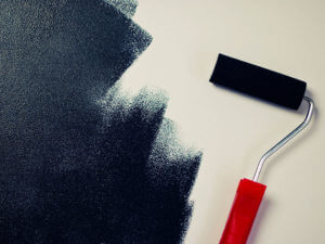 Nr16 painting black paint roller 800x600px